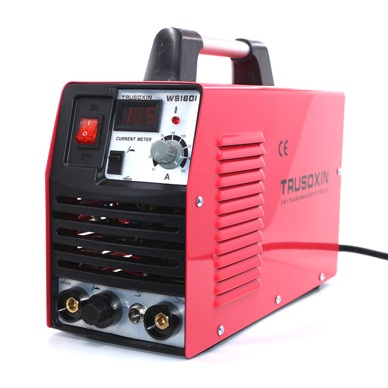 Mini 220V Portable Inverter DC IGBT TIG+MMA 2 in 1 DIY welding machine/welding equipment/welder with accessories