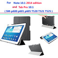 P600 P605 T520 T525 Ultra Slim cover for Samsung Galaxy Note 10.1 2014 Edition/Galaxy Tab Pro 10.1 smart cover case Auto Sleep
