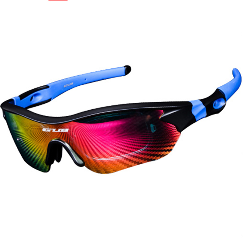 Gub 3Lens Cycling Bicycle Glasses Sports Polarized Sunglasses Riding Fishing Goggles Bike Sunglasses UV400 Eyewear Sun Glasses uv400 polarized cycling glasses windproof bicycle bike sunglasses sports eyewear for running biking lunettes cycliste homme
