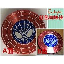 สีแดงแมงมุมโล่อยู่ไม่สุขมือปั่นของเล่นต่อต้านความเครียดEDCโฟกัสเด็กสมาธิสั้นผู้ใหญ่ของขวัญสนับสนุนDropการสนับสนุนการจัดส่งสินค้าdrop Shipping