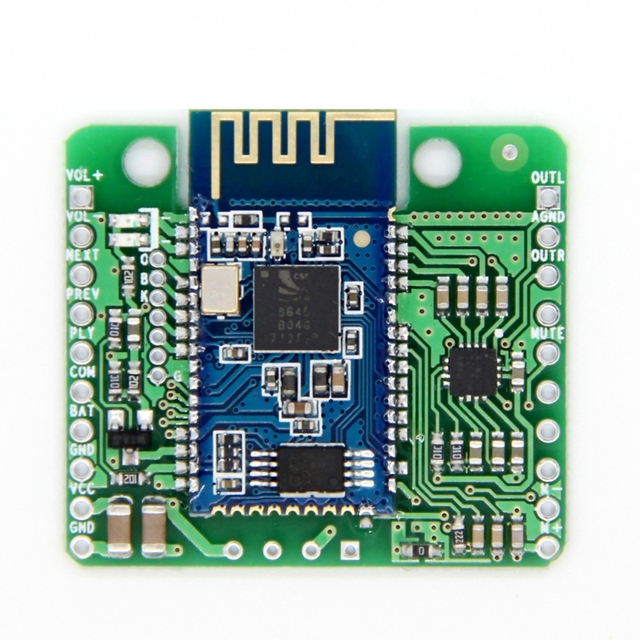 CSR8645 APT X HIFI Bluetooth 4.0 12V Receiver  Board for Car Amplifier Speaker