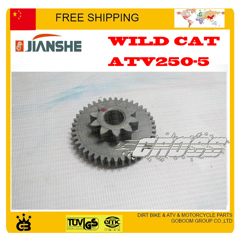 Для мотовездехода jianshe ATV250 LONCIN LX250 F 250cc двигатель сдвоенное зубчатое колесо quad аксессуары Бесплатная доставка