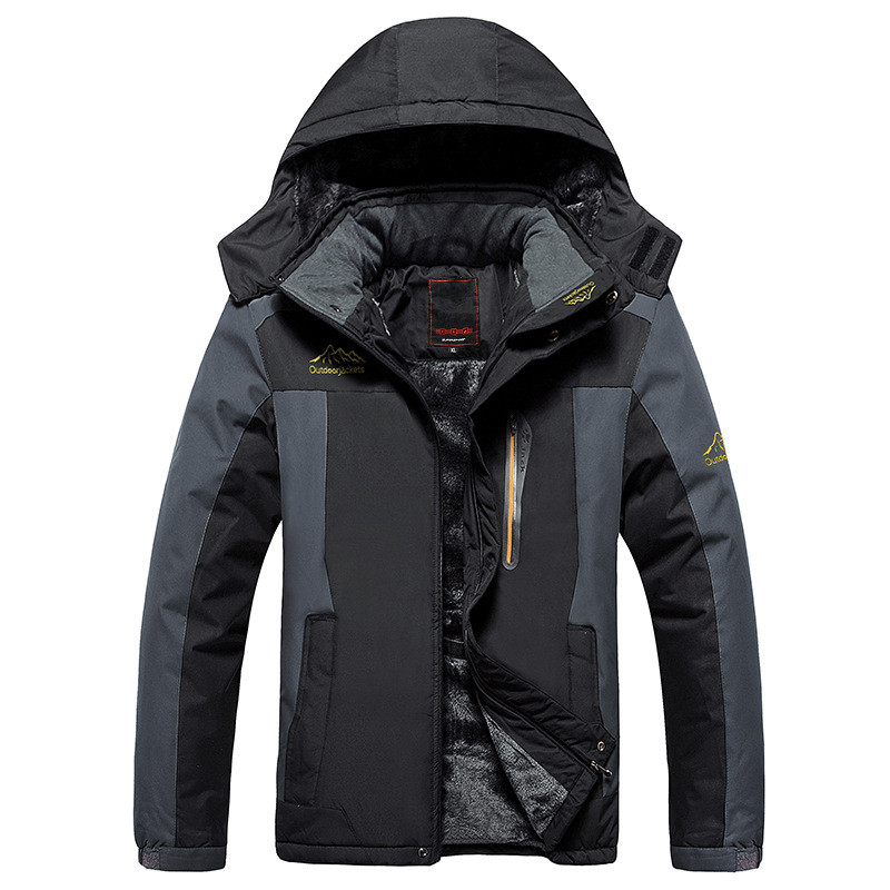 Grande taille 8XL 9XL hiver polaire militaire doudoune manteau hommes coupe-vent imperméable Outwear vers le bas Parkas coupe-vent armée imperméable