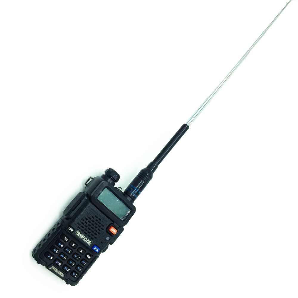 2019 Nagoya NA-773 Antenne SMA-F High Gain Dual Band Telescopische Antenne Voor Twee Manier Radio BaoFeng UV-5R UV-B5 UV-B6 888 s 5RE