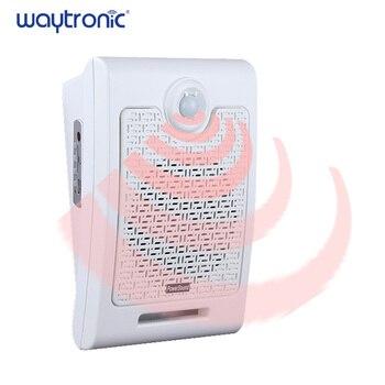 Wand Halterung PIR Infrarot Motion Sensor Audio Lautsprecher USB Downloadable Stimme Beschreibbare Sd-karte Player Öffentlichen Ort Stimme Erinnerung