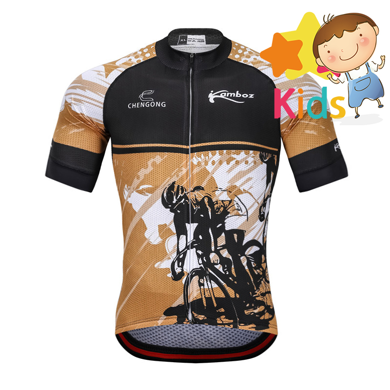 2018 Summer Children 39 s Cycling Jersey Set Gel Pad Breathable Kids Cycling Clothing Set Ropa Ciclismo Bicycle Short Jersey Suit in Cycling Sets from Sports amp Entertainment