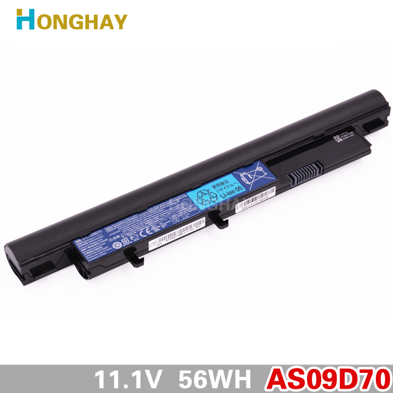 5600mah AS09D70 original Laptop Battery for acer Aspire AS09D31 3810T 3811T 3410 4410 5410 4810T 5810T AS09D36 AS09D56 AS09D71 free customs fee 51 8v 20ah lithium battery 52 v 20ah battery 52v li ion battery use 3 7v 2500mah cell with 30a bms 2a charger