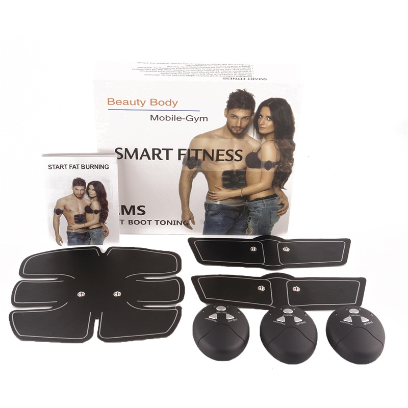 EMS Stimulation Body Slimming Beauty Muscle Stimulator Machine Abdominal Muscle Exerciser Training Device Body Massager kingdom kd 9900 ems rf electroporation beauty device