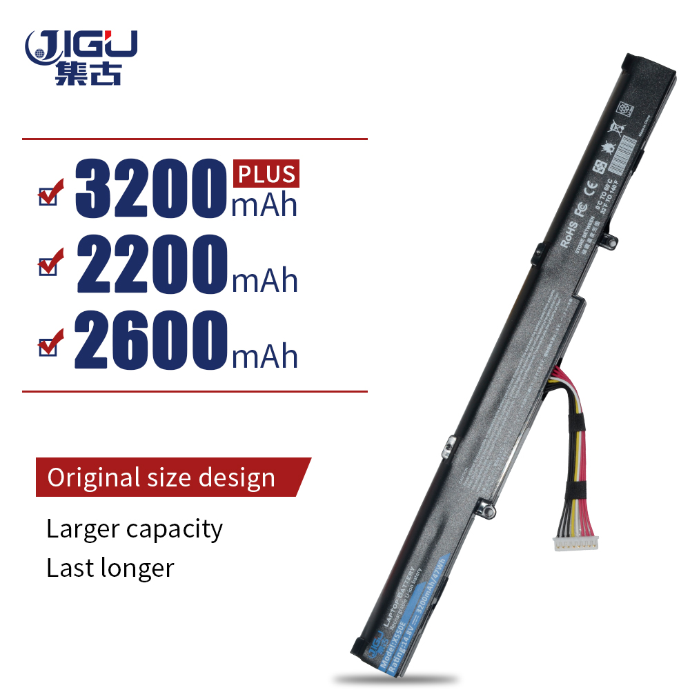 JIGU Laptop Battery A41 X550E F450E R752MA K550E X751MA X751MD X751MJ FOR ASUS-in Laptop Batteries from Computer & Office