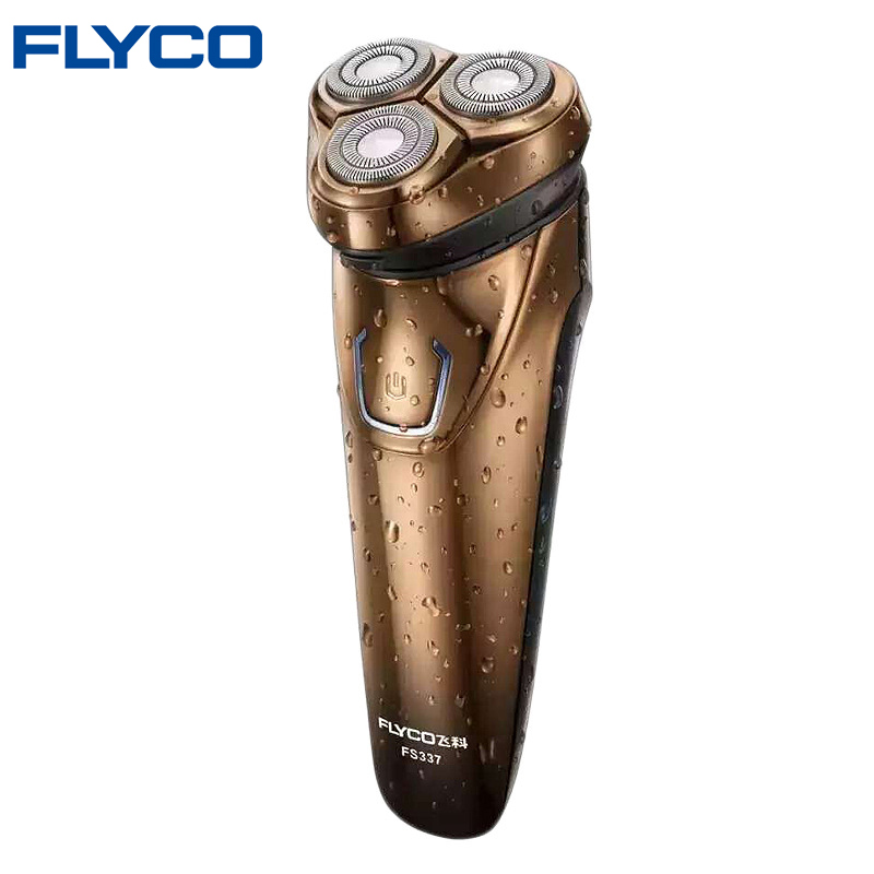 FLYCO Electric Shaver For Men Shaving Razor 1 Hour Quick Charge Wet Dry Use Electric Razor
