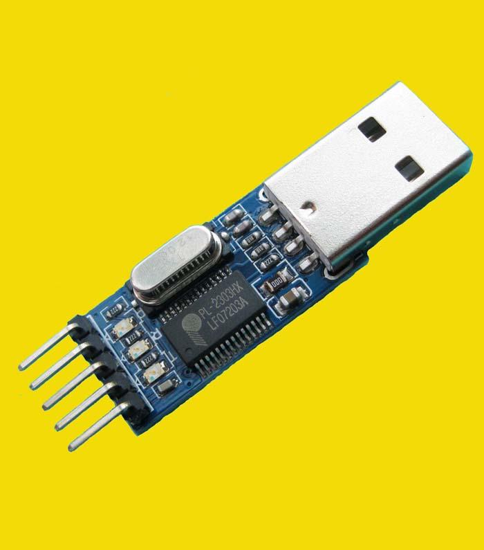 USB To TTL Serial Port Brush Board PL2303HX Module STC Microcontroller Download