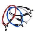 50cm/60cm/90cm/120cm Motorcycle Braided Steel Brake Clutch Oil Hose Line Pipe Colorful Fit ATV Dirt Pit Bike 5 Color