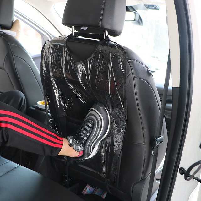 New Car Seat Back Protector Clear Cover For Kids Children Kick Mat Backseat Mud Cleaner Protect