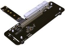 M 2 key M zewnętrzny stojak na karty graficzne z kablem PCIe3 0 x4 Riser 25cm 50cm 32gb dla ITX STX NUC VEGA64 GTX1080ti tanie tanio ADT-Link CN (pochodzenie) Przedłużacz kabla NONE R43SG