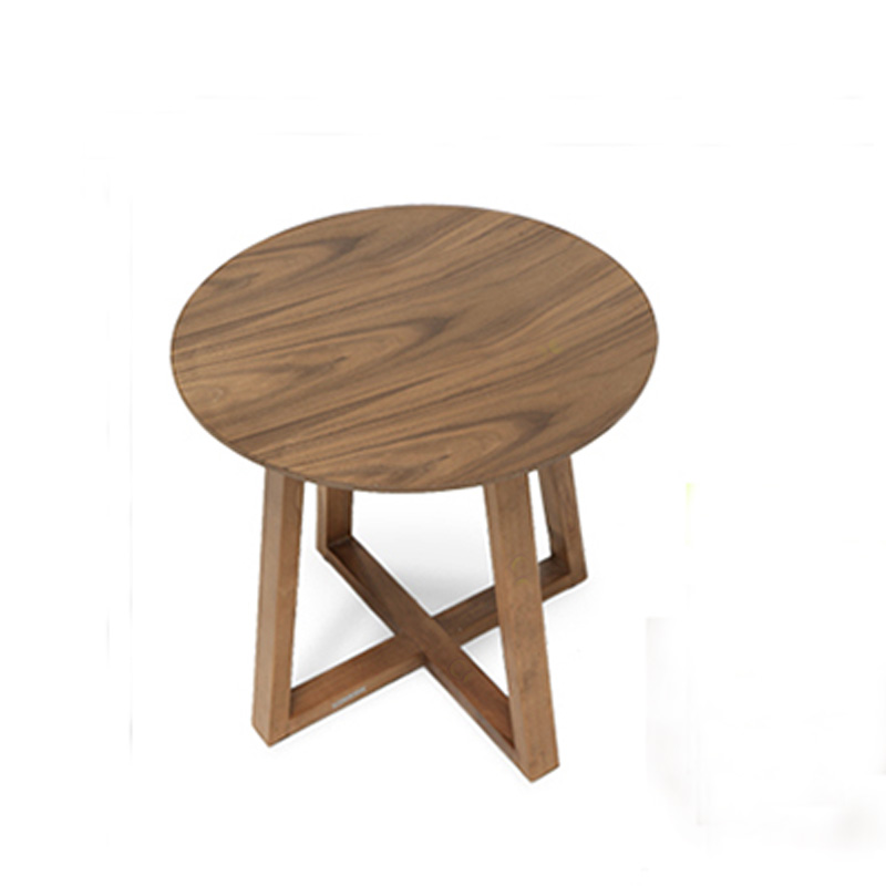popular solid wood round coffee table-buy cheap solid wood round