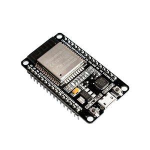 Image 1 - 10 개/몫 esp32 개발 보드 wifi + bluetooth 초 저전력 소비 듀얼 코어 ESP 32S esp 32 유사 esp8266