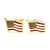 YH 286 Simple Dollar Sign Cufflinks Brass Made With High Polished Factory Direct Wholesale