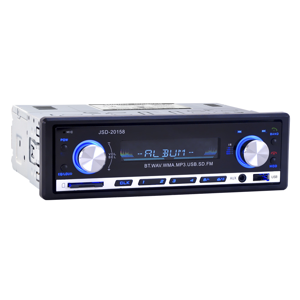 Image 2 - JSD 20158 1 Din Car Audio Auto Radio Stereo Music Bluetooth MP3 Player FM Tunner Autoradio AUX Input Radios  USB Charger Port-in Car Radios from Automobiles & Motorcycles