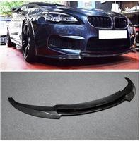 3K Carbon Fiber Racing Front Lip for BMW 6 Series F12 M6 Base Convertible/Coupe 2014 2016