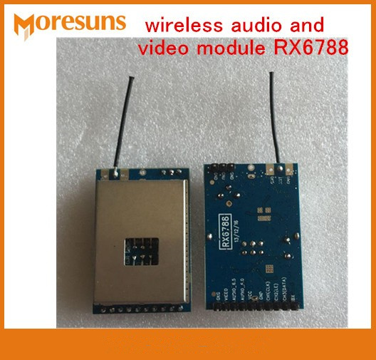 Free Ship 10pcs/lot 2.4G Universal wireless video receiver module/wireless module/ wireless audio and video module RX6788