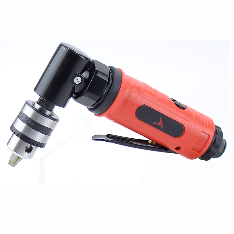 High Quality 1 4 0 6 6 5mm Pneumatic Angle Drill 90 Degree Air Drill Tool