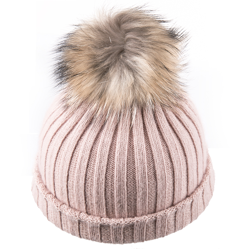 Sedancasesa Female Knitted Pom Poms Women Cap Woolen Head Warmer Girls' Winter Hats   Skullies     Beanies   2019 New Hat for Women