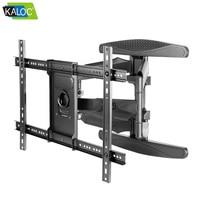 Slim Wall LED TV Wall Mount Screen Bracket Adjustable telescopic rotation for Samsung LG Sony 40 70454950 55 60 65 68