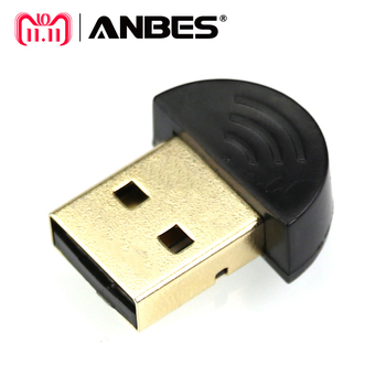 ANBES Dual Mode Wireless Dongle CSR 4.0 Mini USB Bluetooth Dongle Adapter V4.0  For Laptop PC Win Xp Win7/8 phone USB Adapter