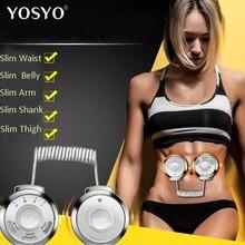 Радиочастотный фитнес-массажер для талии и живота, обрезка тела, упражнения для похудения, тонкий пояс, стимулятор мышц