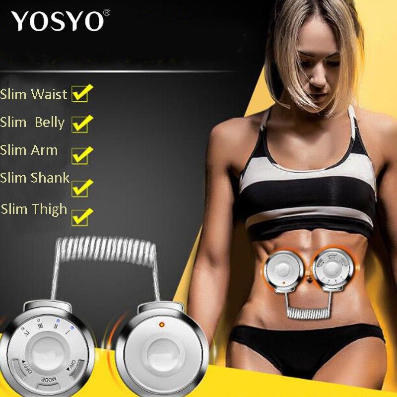 RF Radio Frequenz Taille Bauch Fitness Massage Maschine Körper Trimmen Übung Verlieren Gewicht Dünne Gürtel Muscle Stimulator