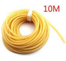 High quality 10m Solid rubber band accidently rope diameter 2mm fishing rubber line protecting fishing rod line fishing supplies