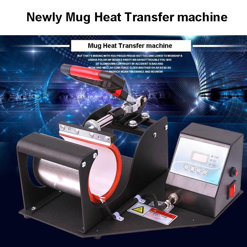 Ceramics Mug heat press machine cup heat transfer unit 1 pcs 38 38cm small heat press machine hp230a