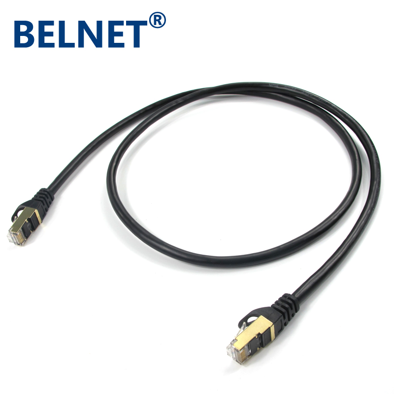 CAT7 network cable 10 gigabit Ethernet Patch Cord RJ45 OFC twisted pair GigE Lan cable STP SFTP Carrier-class anti-interference