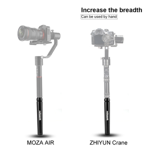 Image 5 - Pergear Aluminum Mini Table Tripod Leg for Tripod Head Selfie Stick Extendable Monopod Smartphones Cameras Zhiyun Smooth Q2 4