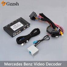 Macchina fotografica di retrovisione adattatore video decoder per Mercedes-Benz GLA GLE GLC CLA A B C E- auto di classe NTG4.5 presa originale LS-8868C