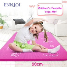 185cmx90cmx10mm None-Slip Children Yoga Mat NBR Maretial for Training Physical Exercise Fitness Gym Exercise Mat Gymnastics Mat
