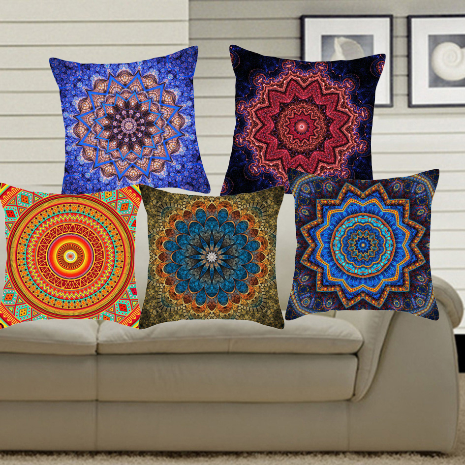Hyha Hippie Mandala Cushion Cover