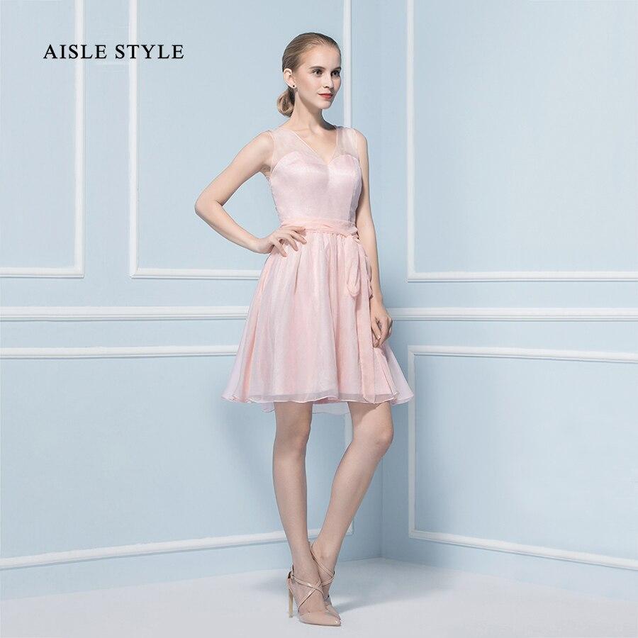 Stunning Blush Bridesmaid Dress Short Images - Wedding Ideas ...