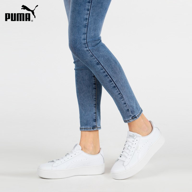 PUMA Vikky Stacked L low sneakers White