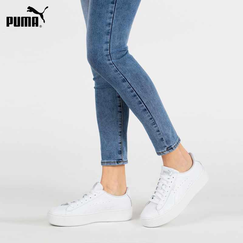 PUMA Vikky Stacked L low sneakers White|Men's Casual Shoes ...