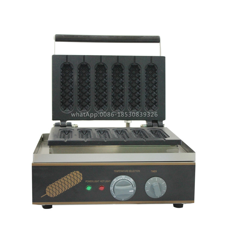 Jinkeli  Temperature control  hot dogs machine, electric corn sausage machine,muffin hot dog machine,hot dog shape waffle maker