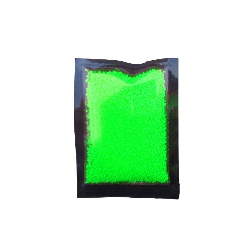 Hoomall Волшебная флуоресцентная светится в темноте светящиеся вечерние яркие краски звезда Желая бутылка частица светящийся песок подарки для детей - Цвет: green