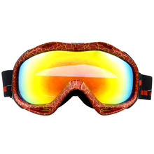 HE-515/HE-516 outdoor sports plating fog snowboard ski goggles myopia Cocker professional ski snow glasses support wholesale
