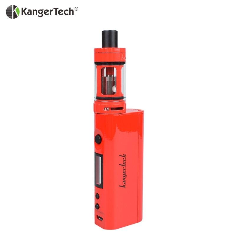 100% Kangertech Topbox Mini Kit Vape Topbox Mini 75 W boîte Mod avec 4 ml capacité 18650 batterie Cigarette électronique Kit Vape