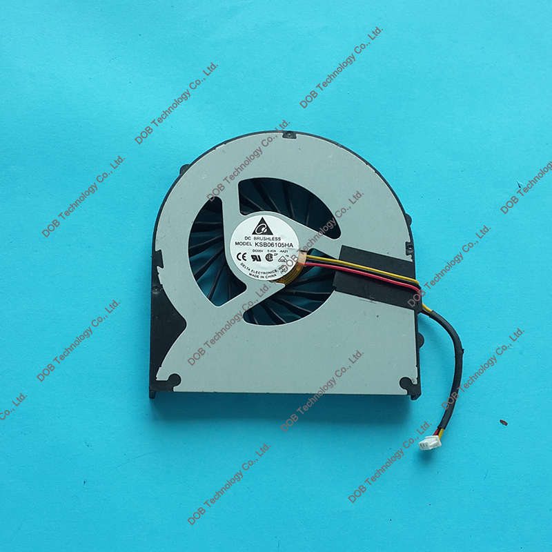 Pour Acer Aspire 7741 7741Z 7741G F92G cpu ventilateur de refroidissement KSB06105HA-AA21 DFS551205ML0T F92G Packard Bell easynote LM94 VENTILATEUR