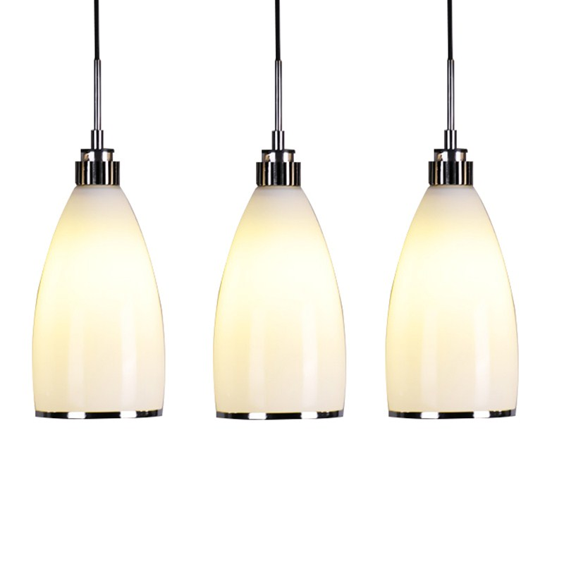 1/3Heads pendant lamps Modern Style White Glass Gorgeous Dining Room Modern Pendant Crystal Chandelier Lighting FG911 american countryside crystal chandelier 4 heads e14 indoor lighting pendant lamp dining room chandelier lamps 220 110v wpl152