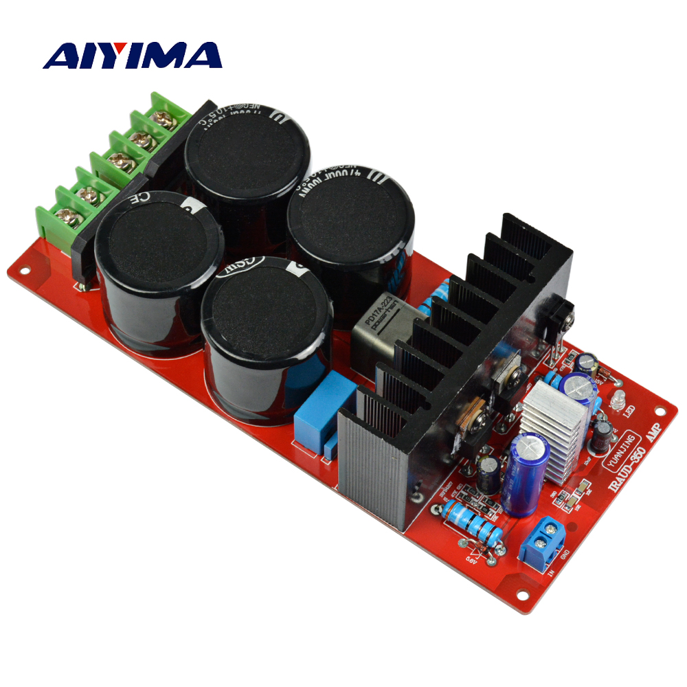 aiyima new design assembled irs2092 mono class d audio power amplifier board with dual. Black Bedroom Furniture Sets. Home Design Ideas