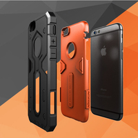 2017 2 In 1 Extreme Sport Armor Dirt Shock Waterproof Colorful Cell Phone Case For Iphone6