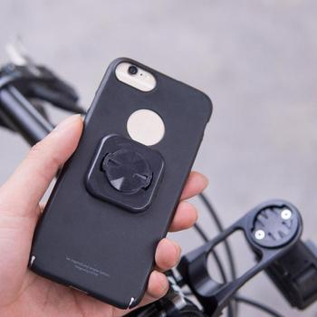 Akcesoria rowerowe prędkościomierz telefon uchwyt rowerowy wspornik adaptera Garmin Edge Holder naklejka tanie i dobre opinie Other support garmin