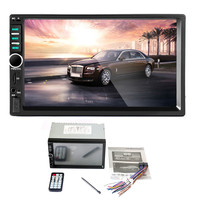7Inch Bluetooth Car Stereo Audio In Dash Aux Input Receiver SD USB MP5 Player